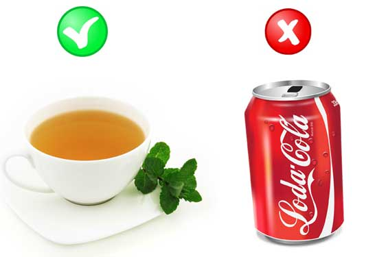 Weight loss green tea vs soda platinum life