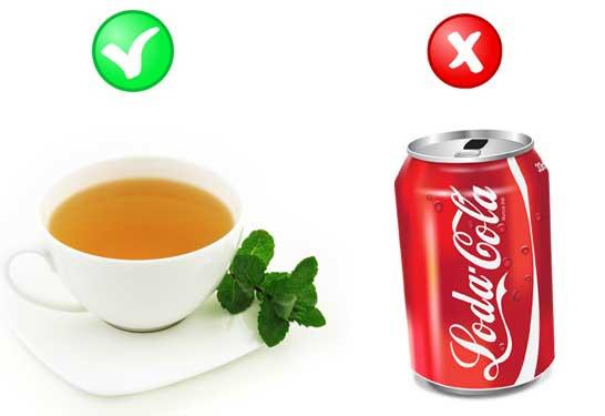 Weight loss green tea vs soda platinum life
