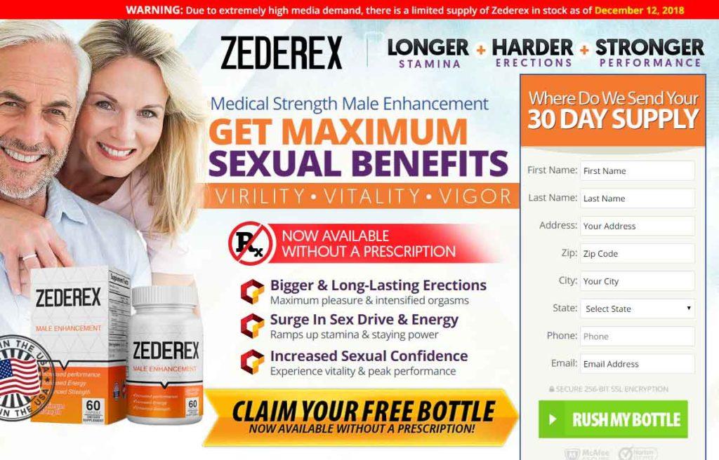 Zederex free Trial