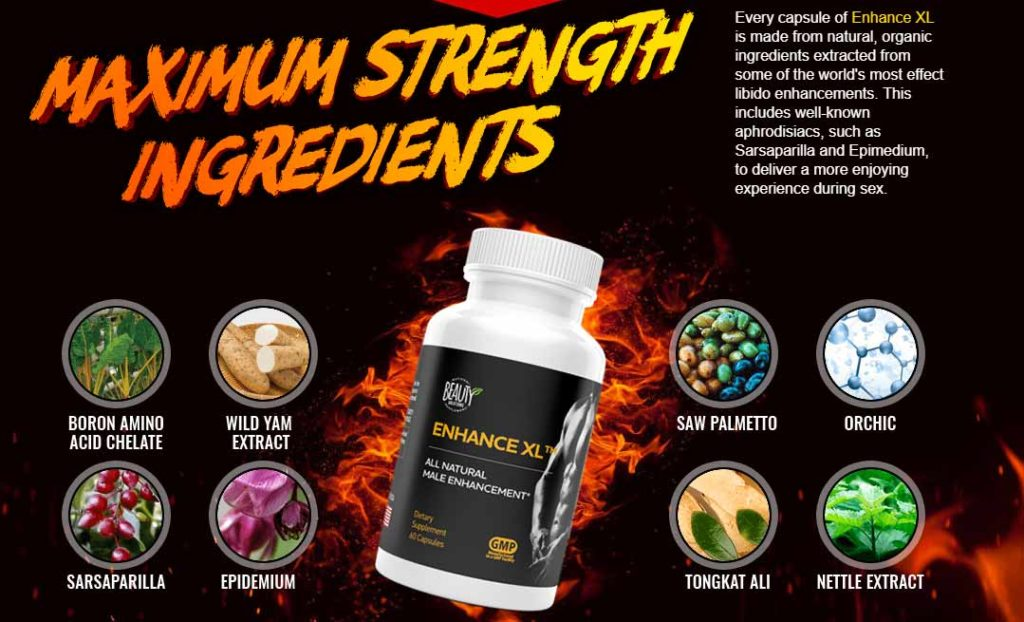 What are Apex Enhance XL ingredients?
