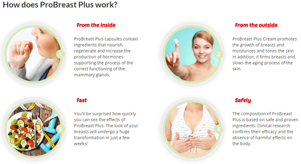 Probreast, Probreast Plus, Probreast Plus Benefits, Probreast Plus Ingredients, Probreast Plus Breast Enlargement  really works