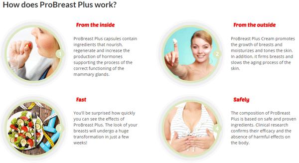 Probreast, Probreast Plus, Probreast Plus Benefits, Probreast Plus Ingredients, Probreast Plus Breast Enlargement  really works