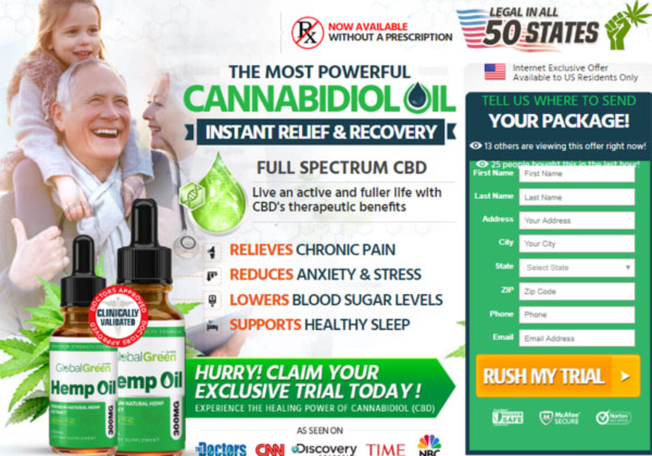 Global Green CBD Oil, Global Green CBD Oil Reviews, Global Green CBD Oil Benefits, Global Green CBD Oil Side-Effects, Global Green CBD Oil Scam or Legit,