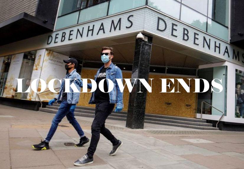 Lockdown Ends,